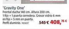 Oferta de Ducha Gravity One por 408,75€