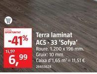 Oferta de Laminado AC5-33 Roble Sofya por 6,99€