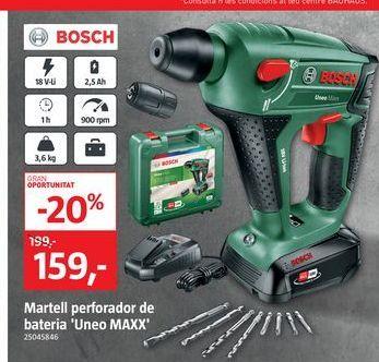 Oferta de Perforadora Boch por 159€