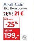 Oferta de Espejo Basoc  por 21€