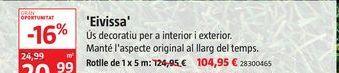 Oferta de Césped artificial Eivissa por 104,95€