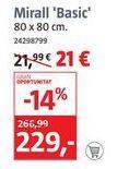 Oferta de Espejo Basic  por 21€