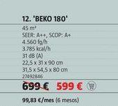 Oferta de Aire acondicionado Beko 180 por 599€