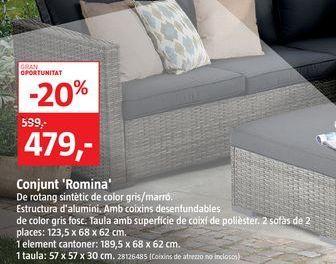 Oferta de Conjunto Romina  por 479€