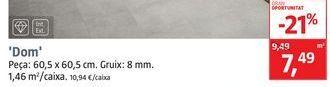 Oferta de Pavimento DOM por 7,49€