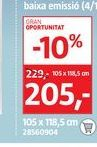 Oferta de Oknum Ventana de PVC 2 hojas practicable-oscilobatiente por 205€