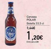 Oferta de Cerveza POLAR por 1,2€