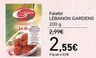 Oferta de Falafel LEBANON GARDENS  por 2,55€