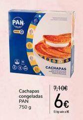 Oferta de Cachapas congeladas PAN por 6€