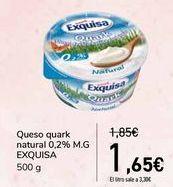 Oferta de Queso quark natural 0,2% M.G EXQUISA  por 1,65€