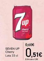 Oferta de SEVEN UP Cherry por 0,51€