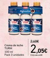 Oferta de Crema de leche TURM  por 2,05€