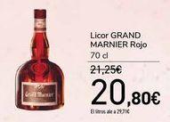 Oferta de Licor GRAND MARNIER Rojo  por 20,8€