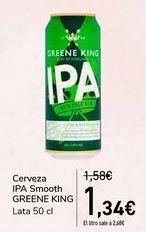 Oferta de Cerveza IPA Smooth GREENE KING  por 1,34€