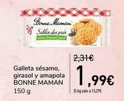 Oferta de Galleta sésamo, girasol y amapola BONNE MAMAN por 1,99€