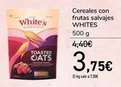 Oferta de Cereales con frutas salvajes WHITES  por 3,75€