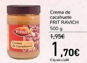 Oferta de Crema de cacahuetes FRIT RAVICH  por 1,7€