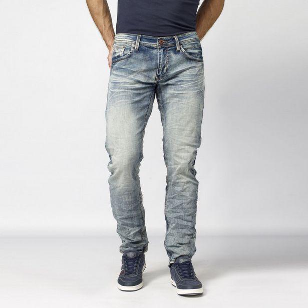 Oferta de Pantalon  Largo  Comfort Denim 100% por 27,99€