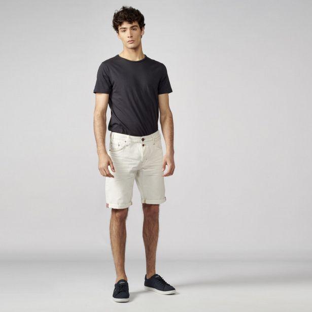 Oferta de Pantalon Corto Regular Denim 100% por 22,99€