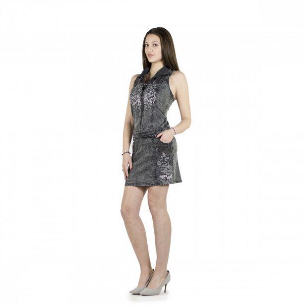 Oferta de Vestido Con Bordado Y Brillantes por 19,99€