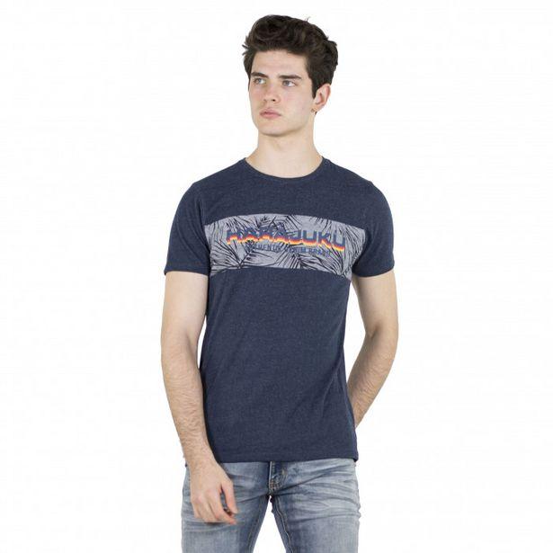 Oferta de Camiseta Estampado Texto En Delantero por 7,99€