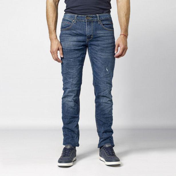 Oferta de Pantalon  Largo  Comfort Denim 100% por 24,99€