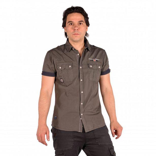 Oferta de Camisa Estampado De Texto En El Pecho por 12,99€