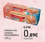Oferta de Galletas mix cereales HOGAREÑAS  por 0,89€