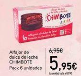 Oferta de Alfajor de dulce de leche CHIMBOTE  por 5,95€