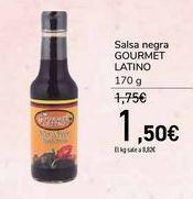 Oferta de Salsa negra GOURMET LATINO por 1,5€