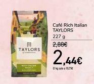 Oferta de Café Rich Italian TAYLORS por 2,44€