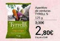 Oferta de Aperitivo de verduras TYRELL'S por 2,8€