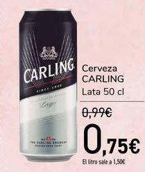 Oferta de Cerveza CARLING  por 0,75€