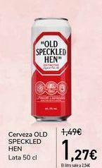 Oferta de Cerveza OLD SPECKLED HEN por 1,27€