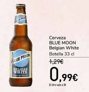 Oferta de Cerveza BLUE MOON Belgian White  por 0,99€