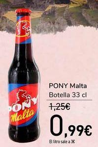Oferta de PONY Malta por 0,99€