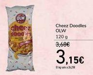 Oferta de Cheez Doodles OLW por 3,15€