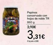 Oferta de Pepinos conservado con hojas de roble TR  por 3,31€