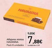 Oferta de Alfajores mixtos HAVANNA  por 7,88€
