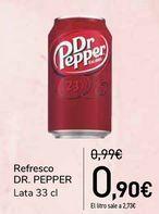 Oferta de Refresco DR.PEPPER por 0,9€
