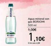 Oferta de Agua mineral con gas BORJOMI por 1,1€