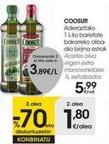 Oferta de COOSUR Aceites oliva virgen extra monovarietales por 5,99€