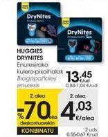 Oferta de HUGGIES DRYNITES Bragapañales enuresis  por 13,45€