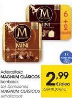 Oferta de MAGNUM Los bombones Magnum clásicos señalizados por 2,99€