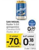 Oferta de SAN MIGUEL Cerveza 0,0% Radler por 0,6€