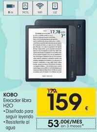 Oferta de KOBO Ereader libra H2O por 159€