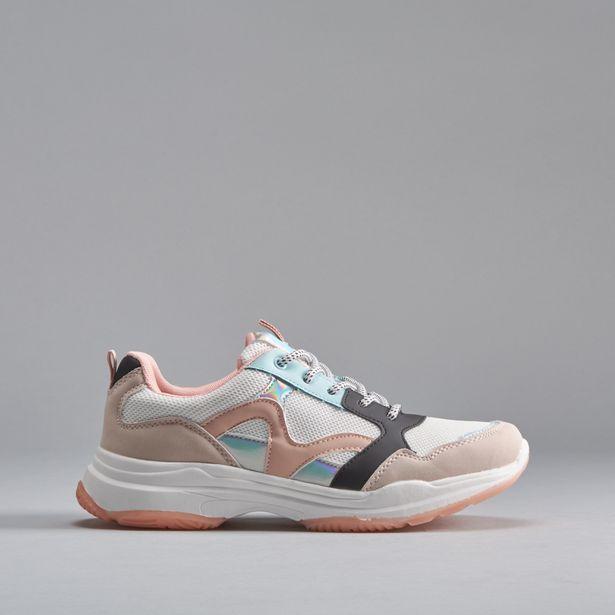 Oferta de Sneaker chunky beige OH GIRL por 9,99€