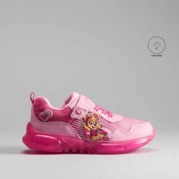Oferta de Sneaker monocolor luces PATRULLA CANINA por 25,99€