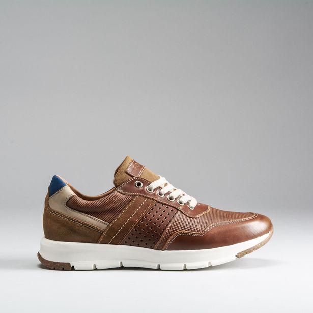 Oferta de Zapato deportivo grabado piel FOSCO por 24,99€