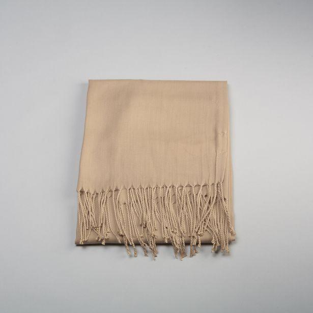 Oferta de Pashmina básica beige MKL por 2,99€